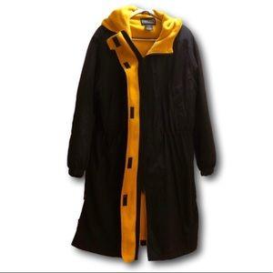 Lands end women's long coat. Like new. Size Large